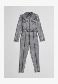 Bershka - Jumpsuit - dark grey - 4