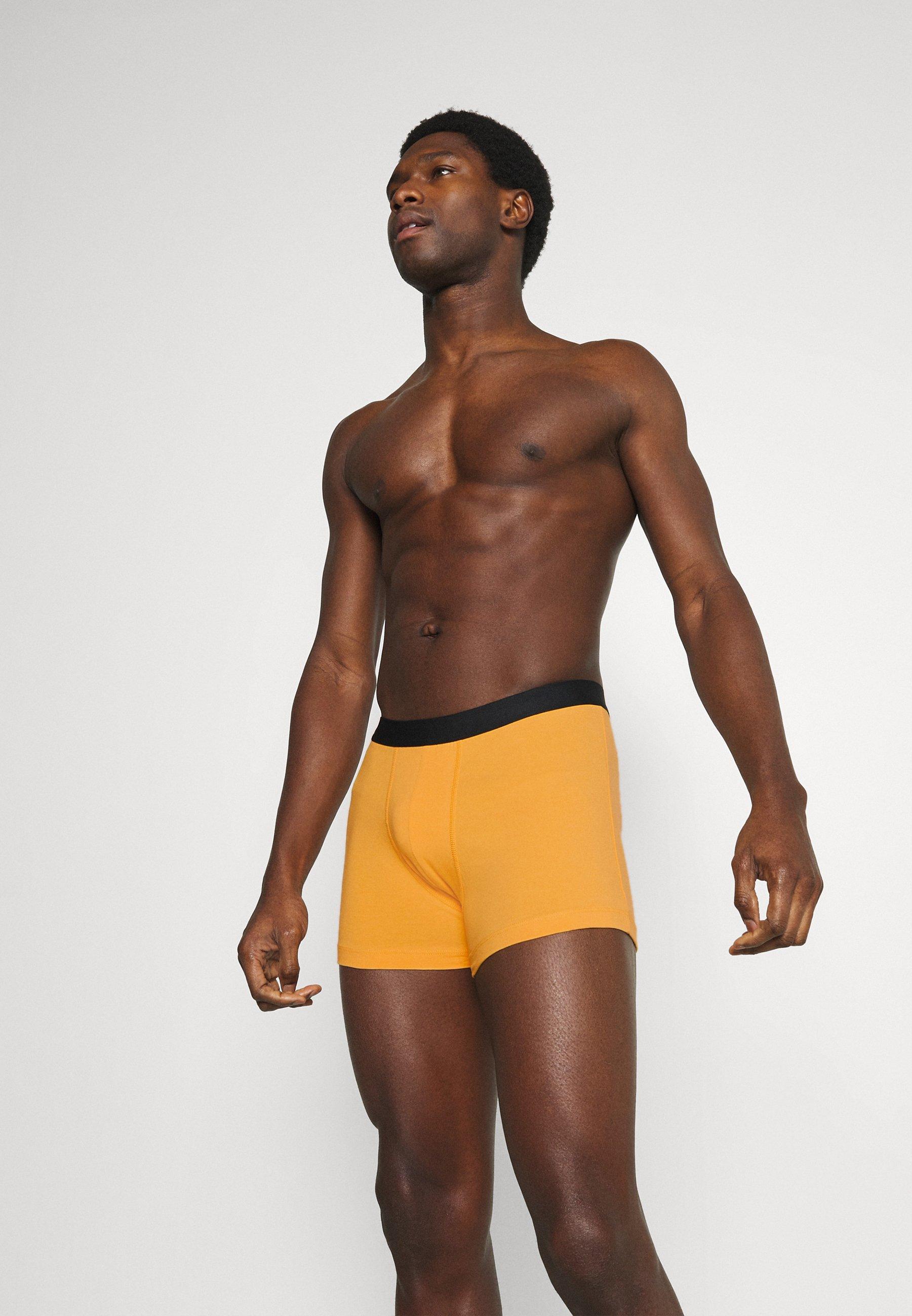 Men 5 PACK - Pants - bordeaux/red/black