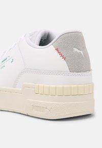 Puma - CALI SPORT CLEAN RE.GEN - Baskets basses - white/glacial blue - 5