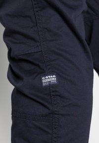 G-Star - ROVIC ZIP TAPERED - Reisitaskuhousut - dark blue - 4