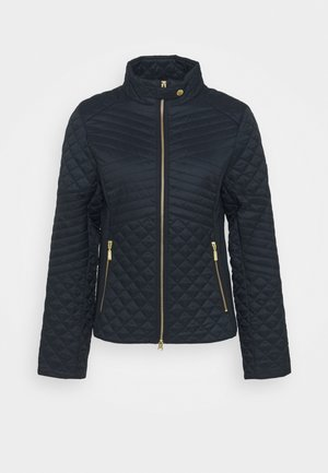 FORMATION QUILT - Light jacket - dark navy