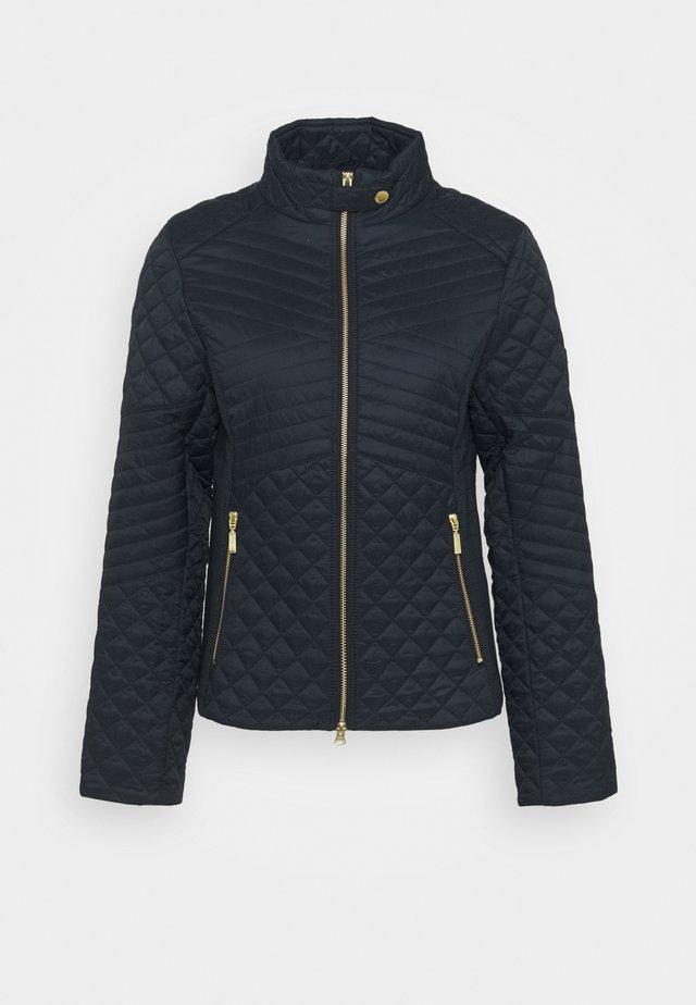 FORMATION QUILT - Light jacket - dark navy