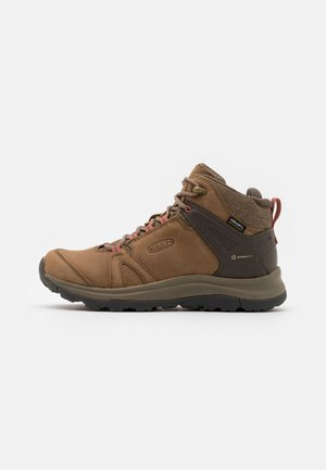 TERRADORA II MID WP - Hikingsko - brindle/redwood