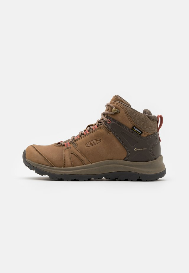 TERRADORA II MID WP - Scarpa da hiking - brindle/redwood