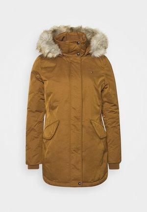 SORONA PADDED - Zimní kabát - highland khaki