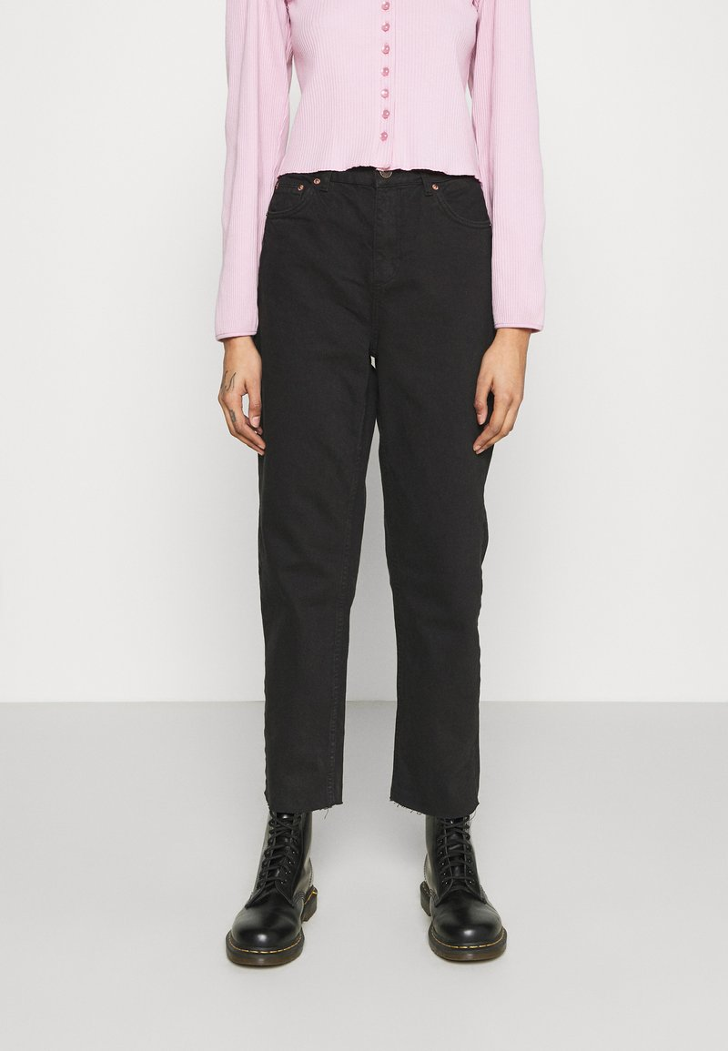 BDG Urban Outfitters - PAX - Džíny Straight Fit - clean black