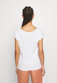 Vila - VISCOOP  - Camiseta básica - optical snow - 2