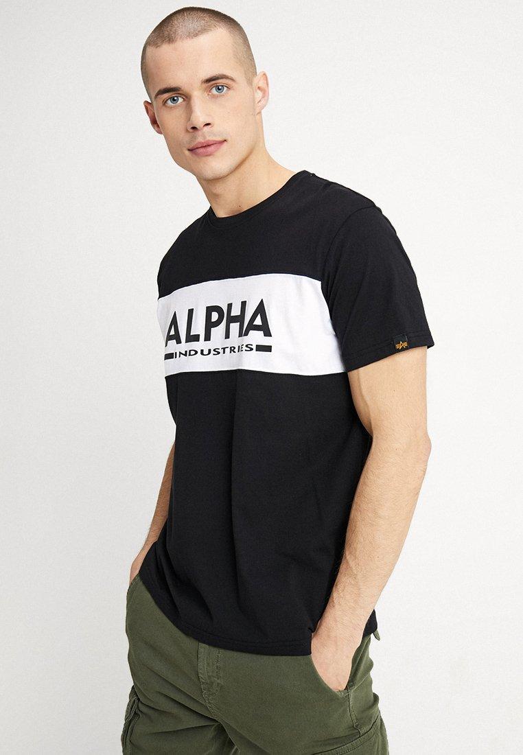 Alpha Industries - Print T-shirt - black