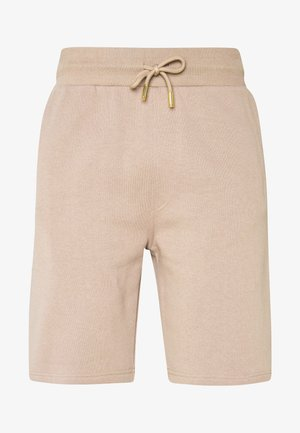 KALK - Tracksuit bottoms - sand