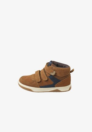 High-top trainers - camelfarben