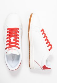 Trussardi Jeans - Trainers - white/red - 1