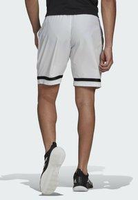adidas Performance - Sports shorts - white/black - 1