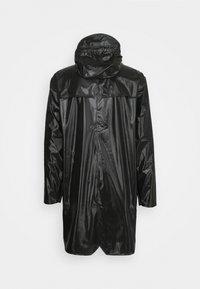 Rains - LONG JACKET UNISEX - Impermeable - shiny black - 8