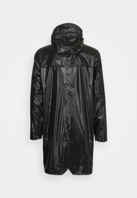 Rains - LONG JACKET UNISEX - Vodotěsná bunda - shiny black - 8