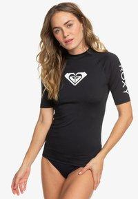 Roxy - HEARTED  - Camiseta de lycra/neopreno - anthracite - 0