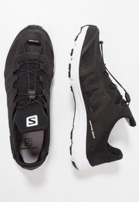 Salomon - AMPHIB BOLD - Hiking shoes - black/white - 1