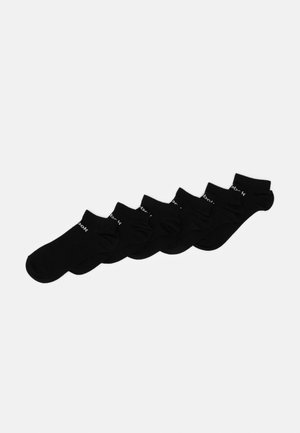 ACT CORE INSIDE SOCK 6 PACK - Skarpety sportowe - black