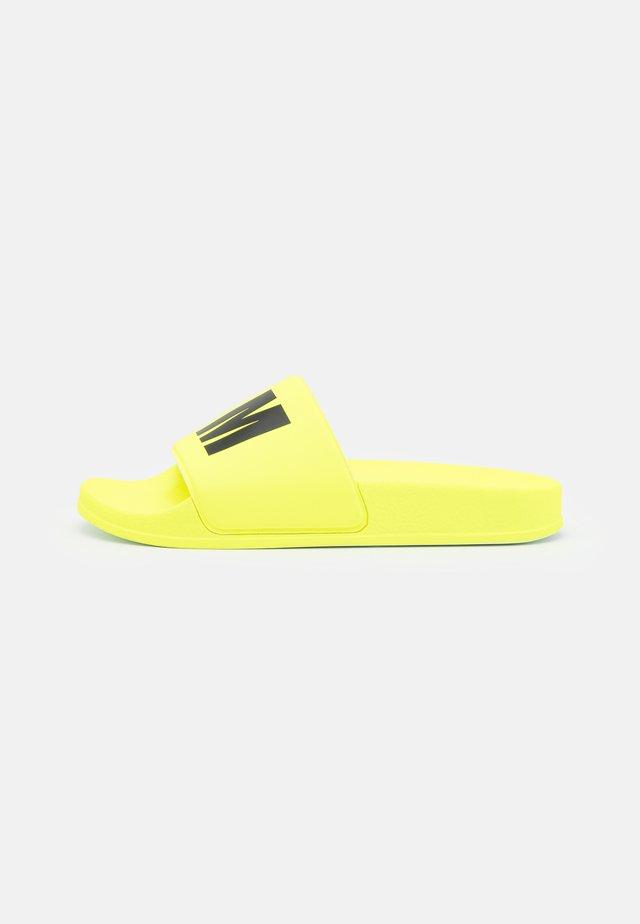 UNISEX - Pantofle - neon yellow