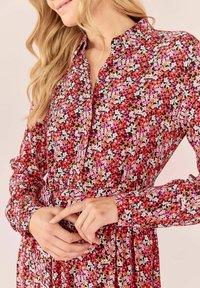 Lieblingsstück - MILLEFLEUR - Shirt dress - burgund - 1