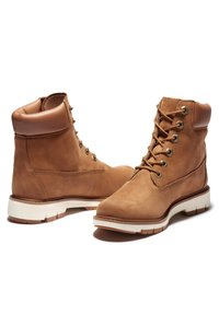 Timberland - LUCIA WAY 6IN WP BOOT - Schnürstiefelette - rust nubuck - 2