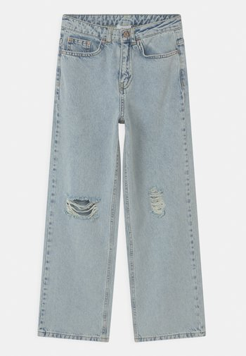 WIDE DOOP DAMAGE - Relaxed fit jeans - light blue denim