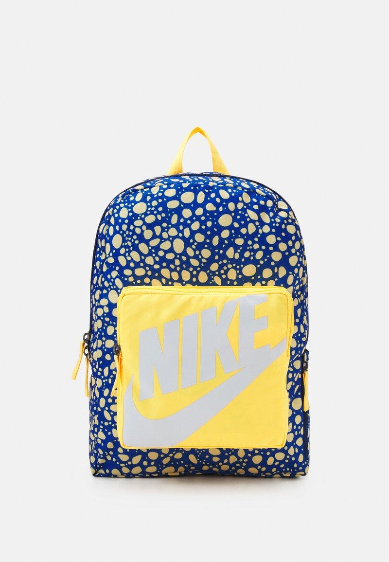 Nike Sportswear - CLASSIC UNISEX - Rucksack - citron pulse/blue void/white