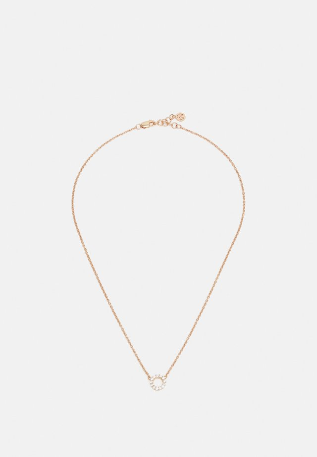 BIELLA PICCOLO NECKLACE - Necklace - rosegold-coloured