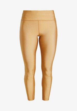 Tights - golden metallic