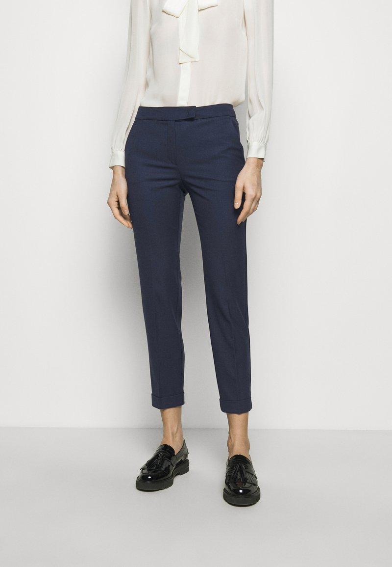 MAX&Co. - MONOPOLI - Trousers - navy blue pattern