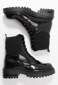 Zign - Snørestøvletter - black - 3