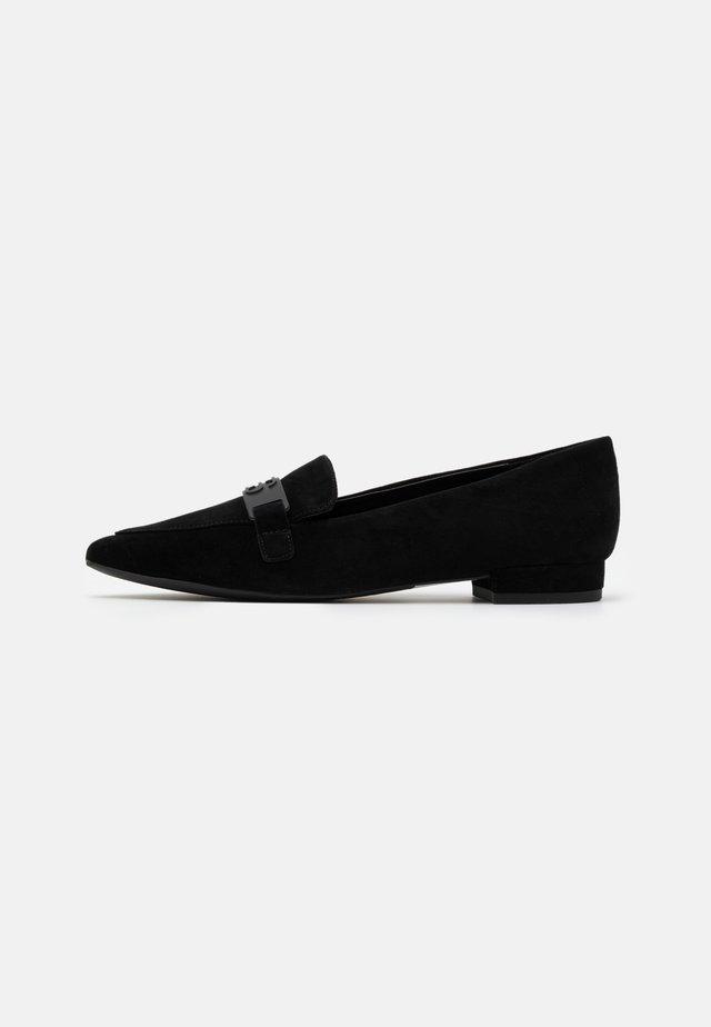 LISBOA LOAFER - Mocasines - black