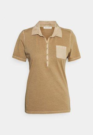 Polo shirt - sand
