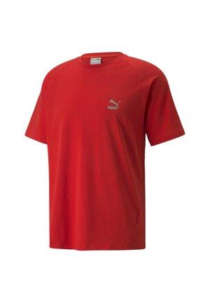 CLASSICS TECH  - Basic T-shirt - high risk red