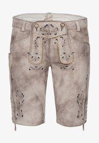 Spieth & Wensky - GUNDA  - Leather trousers - light brown - 3