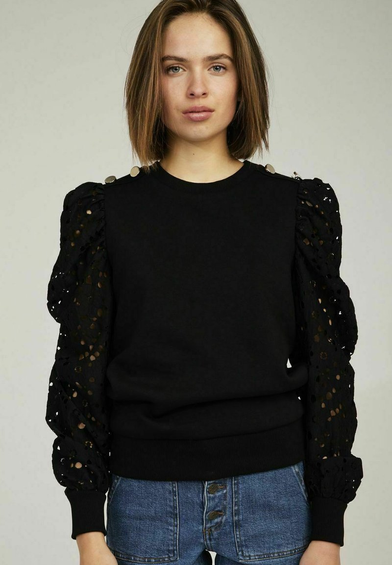 NAF NAF - Sweatshirt - black