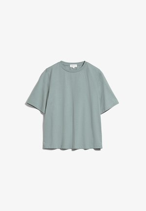 T-Shirt basic - eucalyptus green