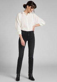 Lee - ELLY - Slim fit jeans - black ellis - 1