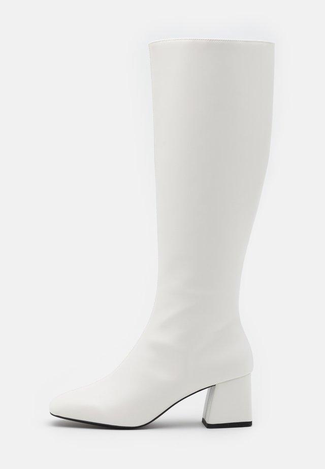 PATTIE BOOT VEGAN - Bottes - white