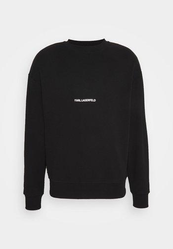 LOGO UNISEX - Sweatshirt - black