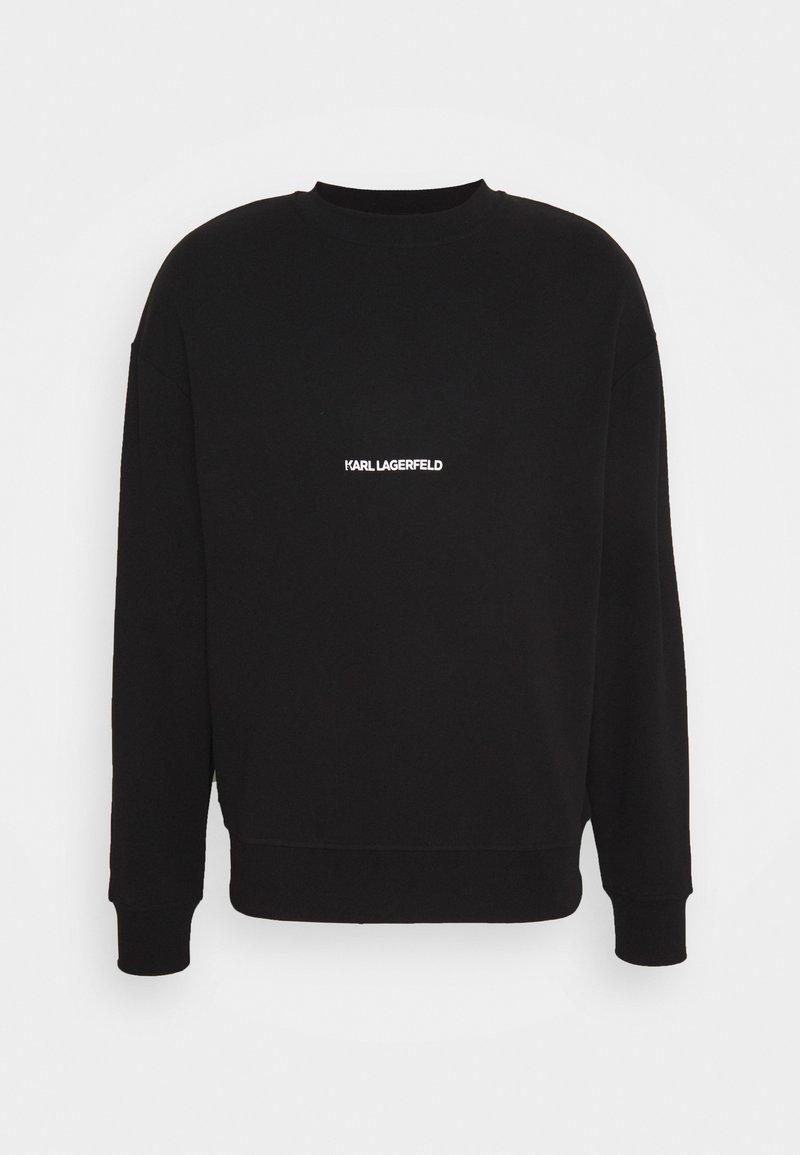 KARL LAGERFELD - LOGO UNISEX - Sweatshirt - black