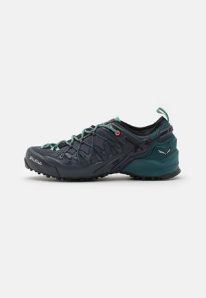 WILDFIRE EDGE GTX - Hiking shoes - ombre blue/atlantic deep