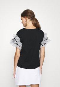 River Island - T-shirts med print - black - 2
