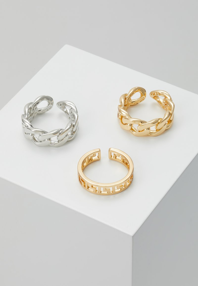 Pieces - PCMILBA 3 PACK - Ring - gold-coloured/silver-coloured