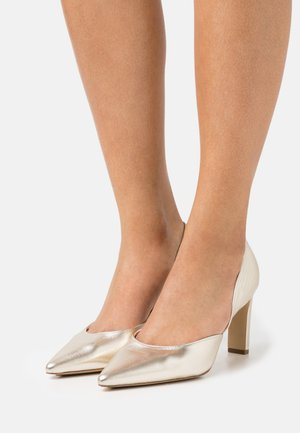 SHIRLEY - Pumps - platin metallic