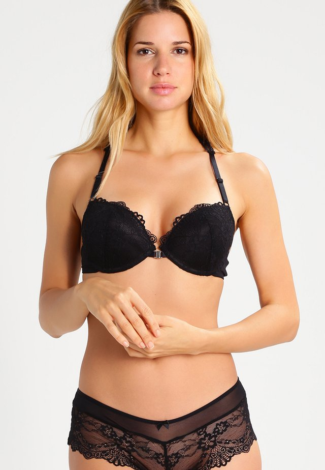 MELISSA - Sujetador push-up - black