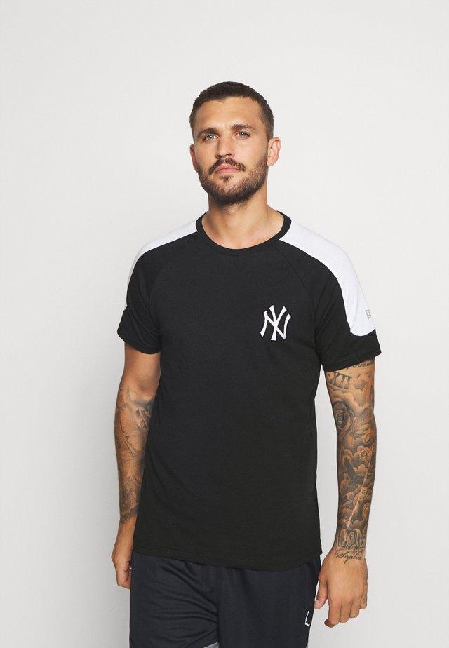 MLB NEW YORK YANKEES TEE - Club wear - black