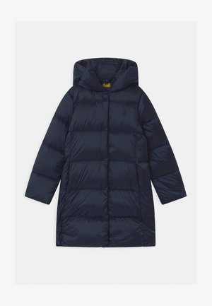 CHANNEL OUTERWEAR - Abrigo de plumas - french navy