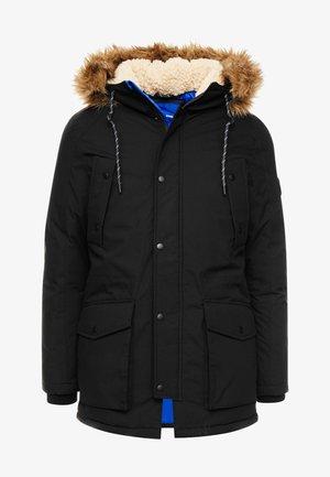JOREXPLORE - Winter coat - black/solid