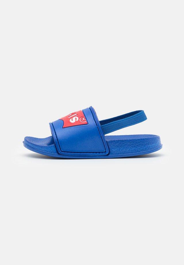 POOL MINI UNISEX - Sandals - royal blue