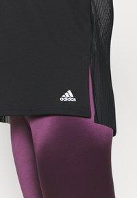 adidas Performance - DANCE LAYERING - Long sleeved top - black/white - 4